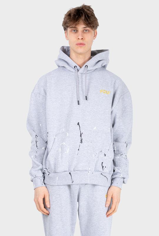 Paint Hoodie Grey