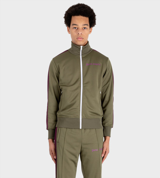 College Track Jacket Green