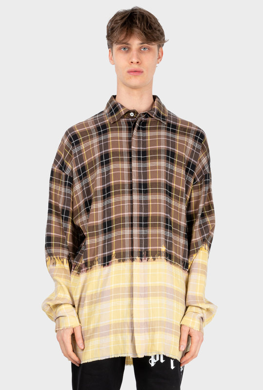 Gradient Checked Shirt