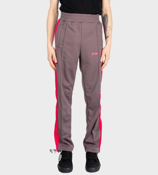 Side Panel Track Pants Grey