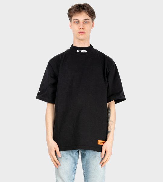 Logo Patch T-Shirt Black