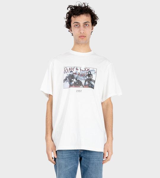 Fishing T-Shirt White