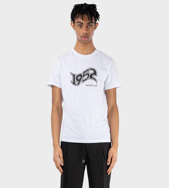 2 Moncler Genius 1952 Print T-shirt White
