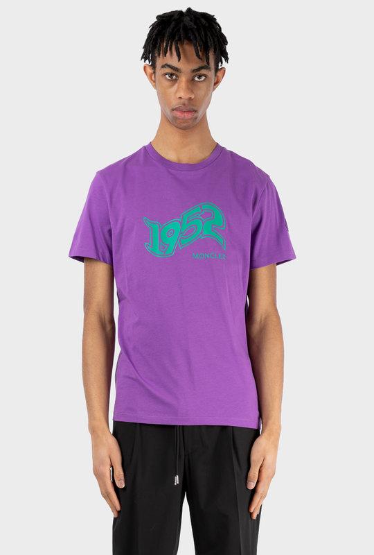 2 Moncler Genius 1952 Print T-shirt Purple