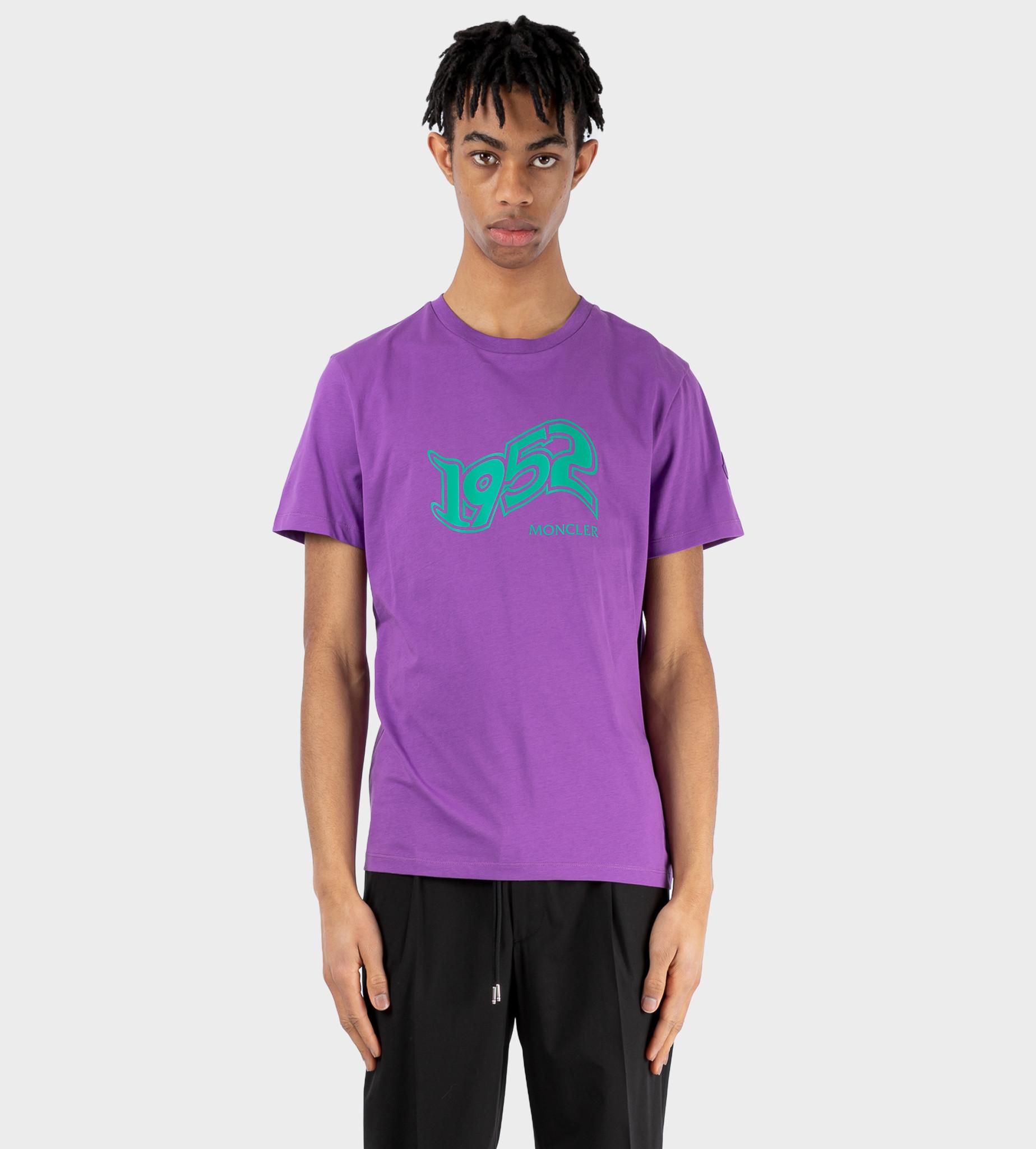 MONCLER GENIUS 2 Moncler Genius 1952 Print T-shirt Purple