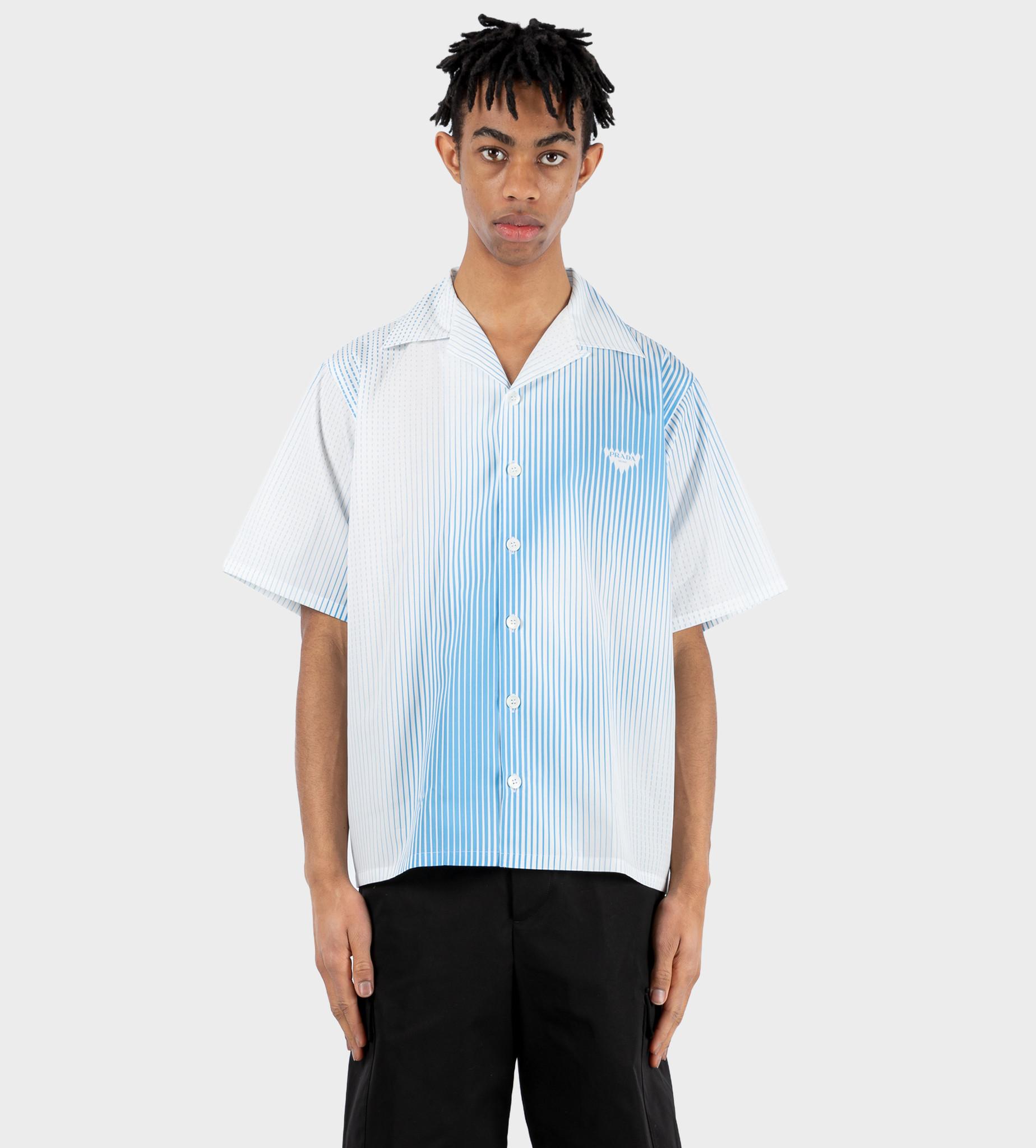 PRADA Poplin Print Shirt