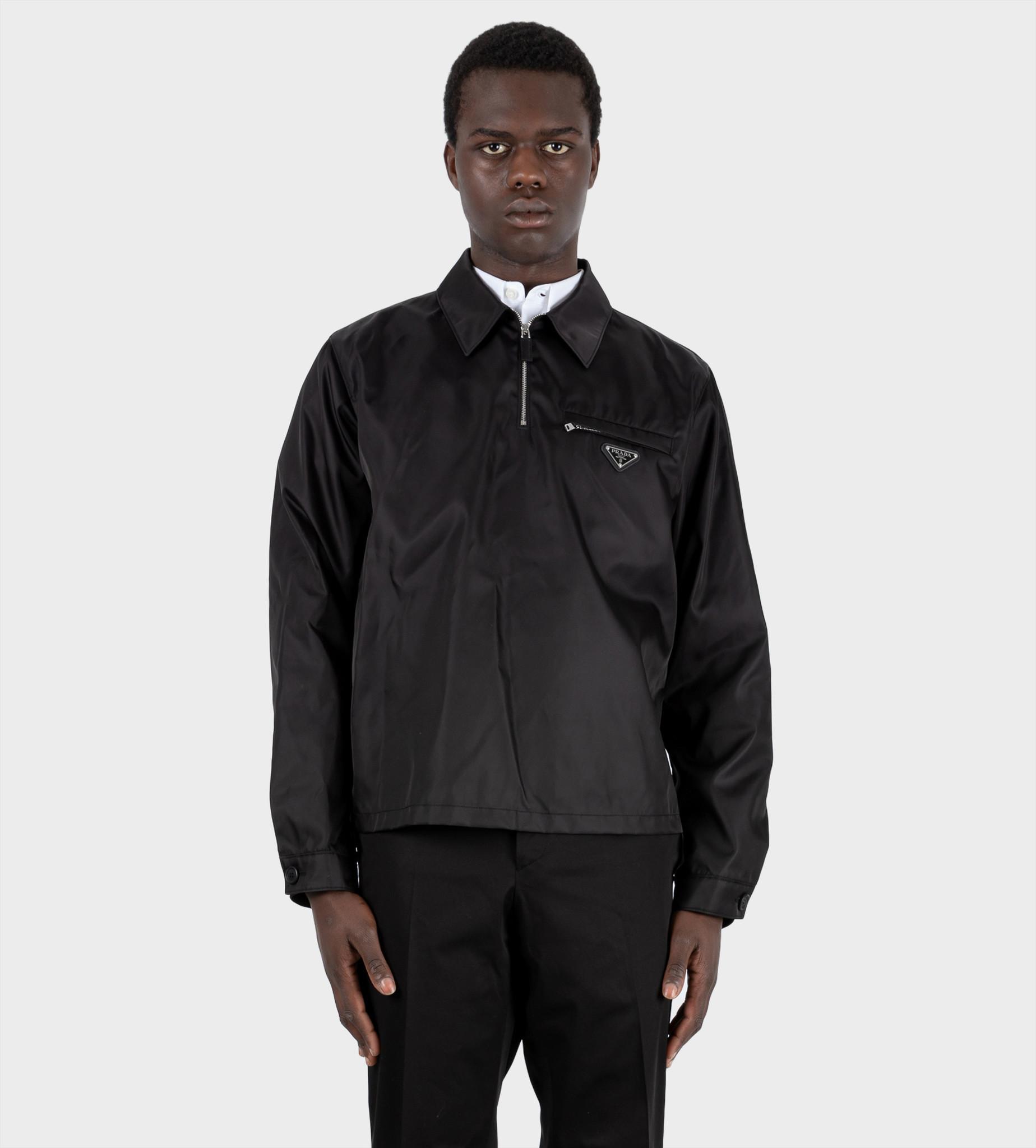 PRADA Re-Nylon Blouson Jacket Black