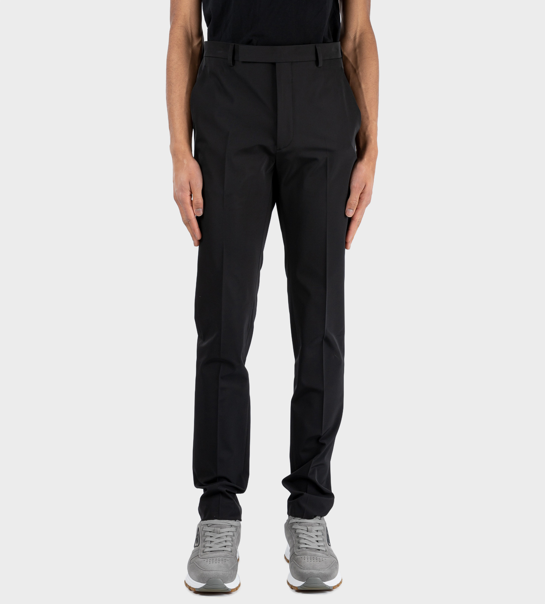 PRADA Techno Stretch Pants Black