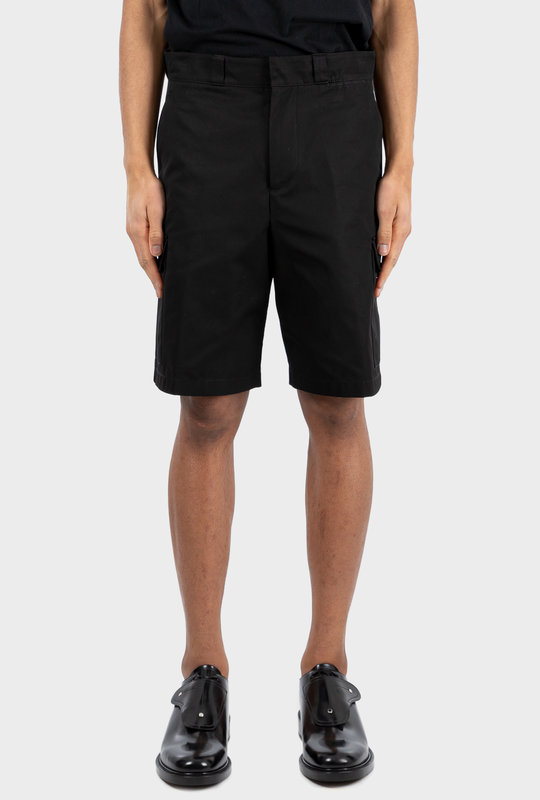 Cotton Poplin Bermudas Black