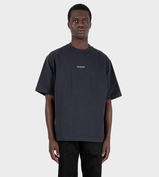 Logo Printed T-shirt Black