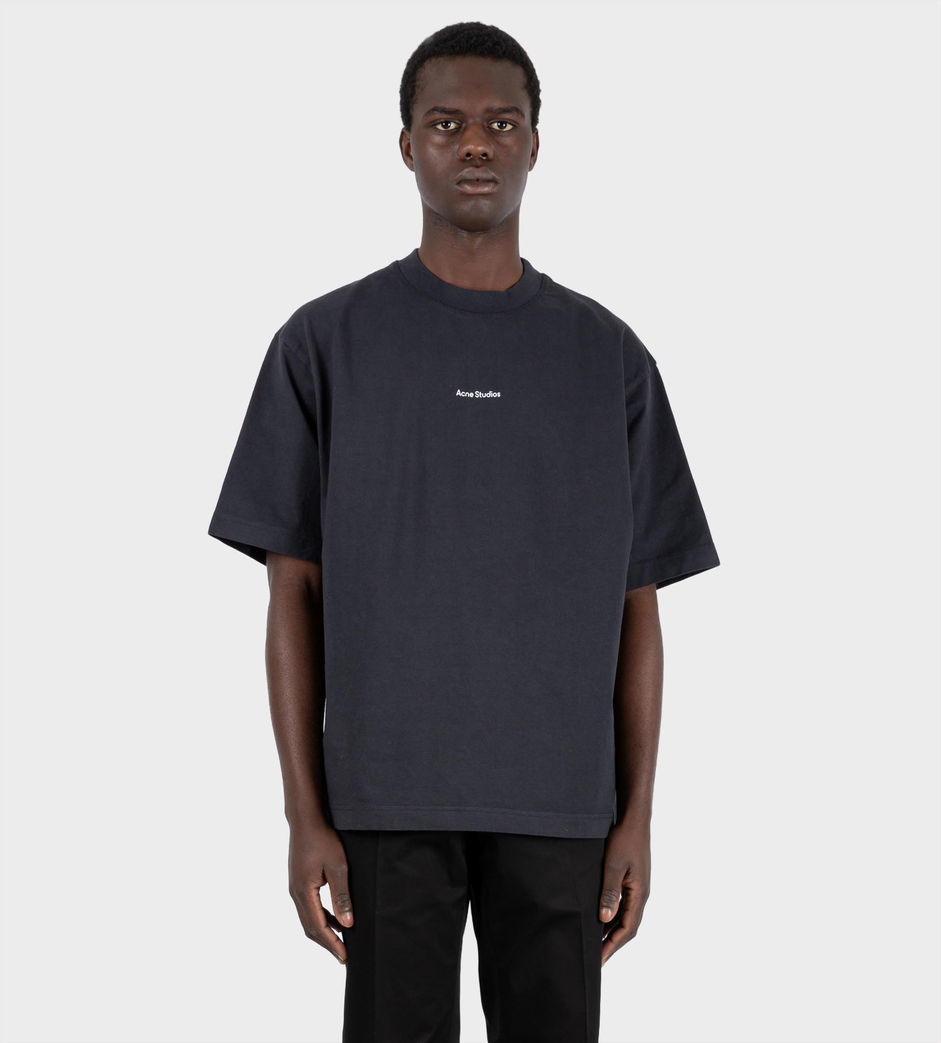 ACNE STUDIOS Logo Printed T-shirt Black