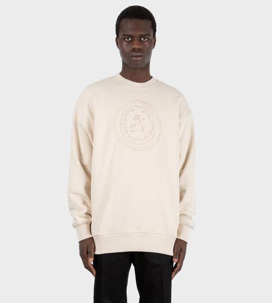 Oversized Sweatshirt Coconut White