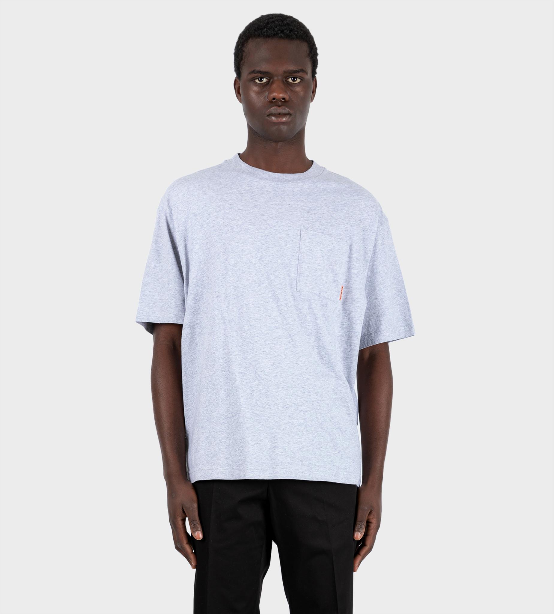 ACNE STUDIOS Pocket T-shirt Pale Grey Melange