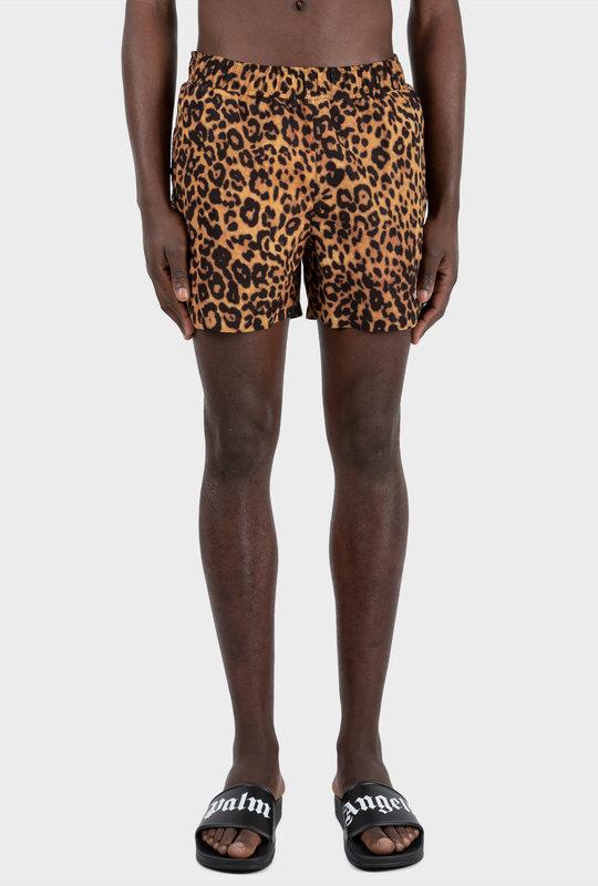 Logo Swim Shorts Panther