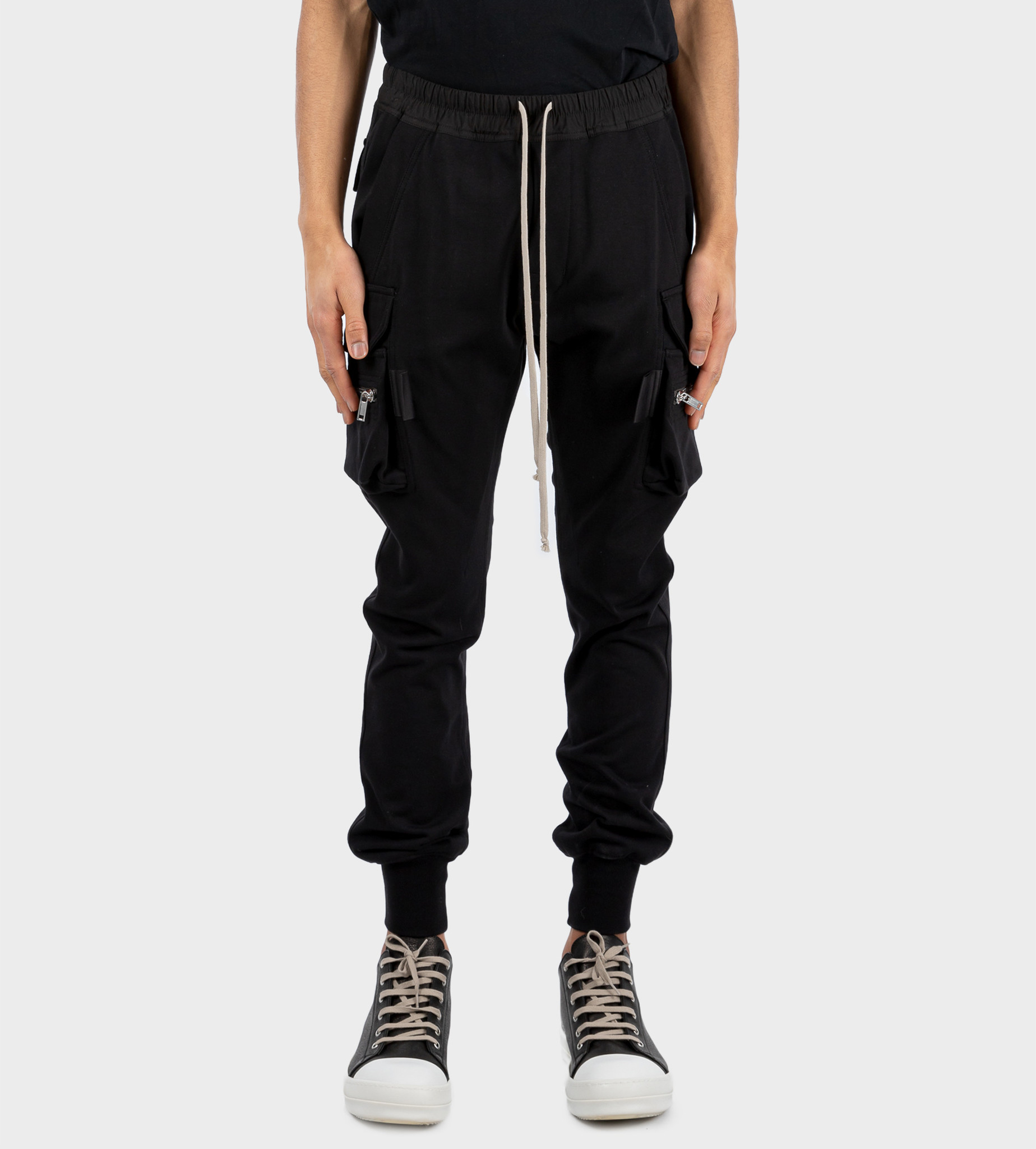 RICK OWENS Mastodon Cargo Pants Black