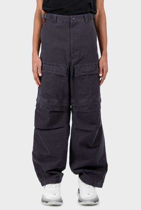 Cargo Trousers Dark Navy