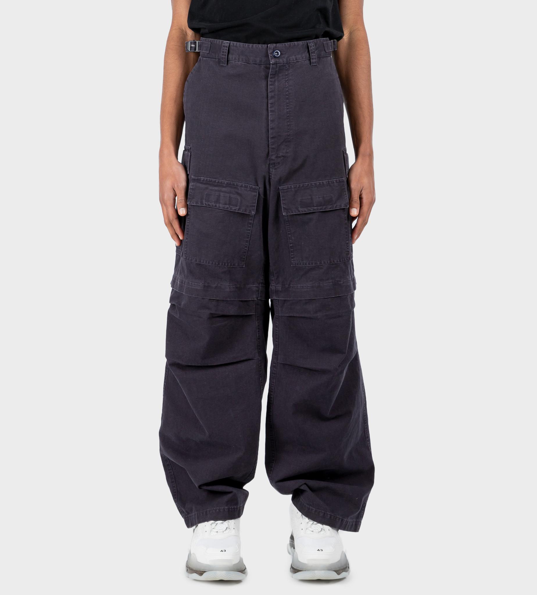 BALENCIAGA Cargo Trousers Dark Navy