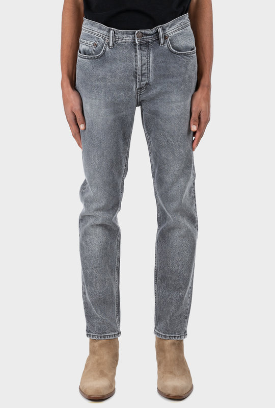 Slim Tapered Jeans Grey
