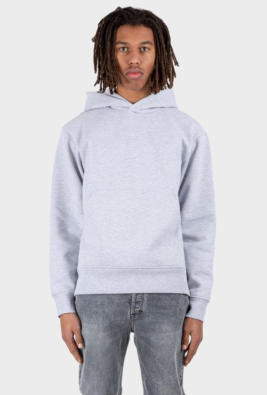 Hooded Sweatshirt Pale Grey Melange