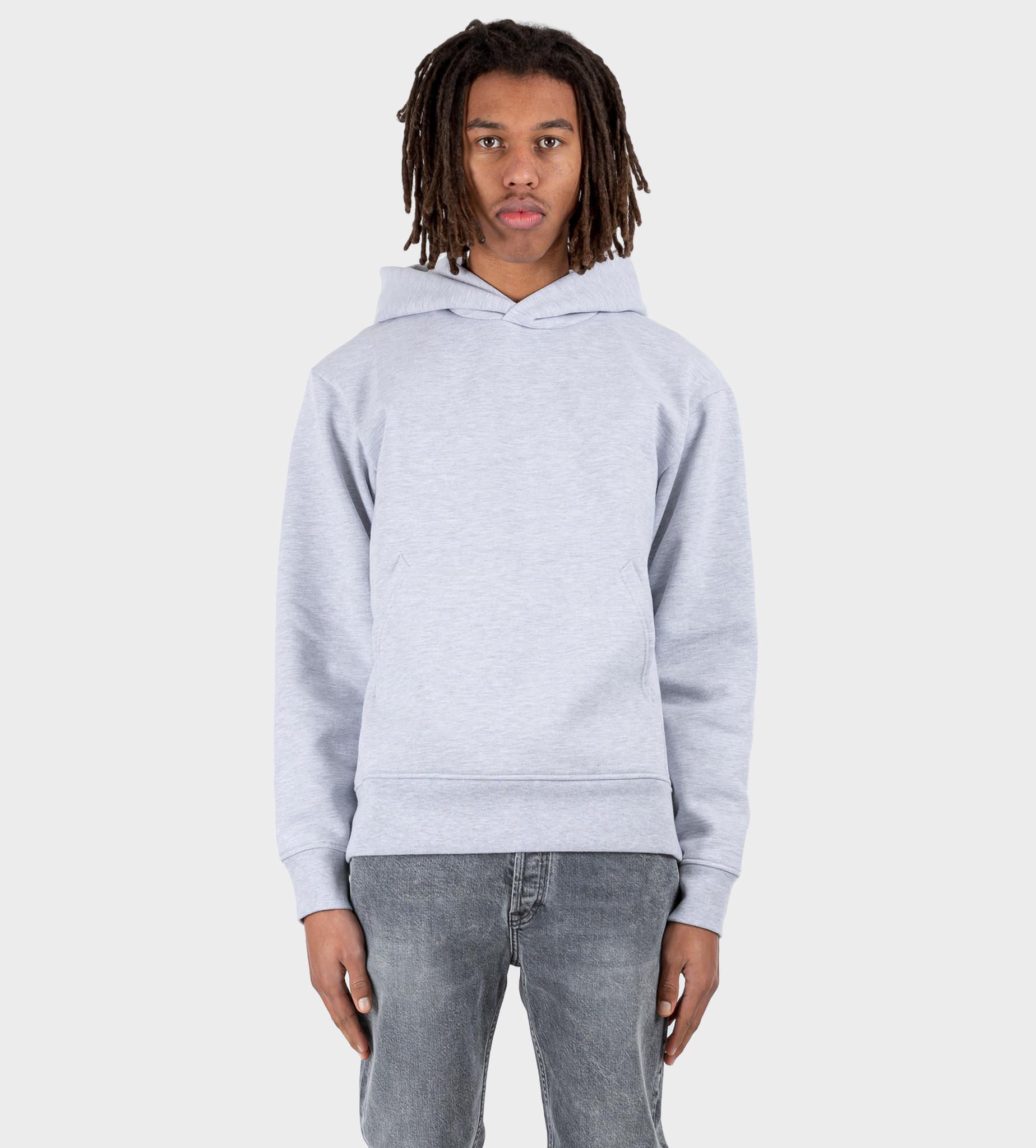 ACNE STUDIOS Hooded Sweatshirt Pale Grey Melange