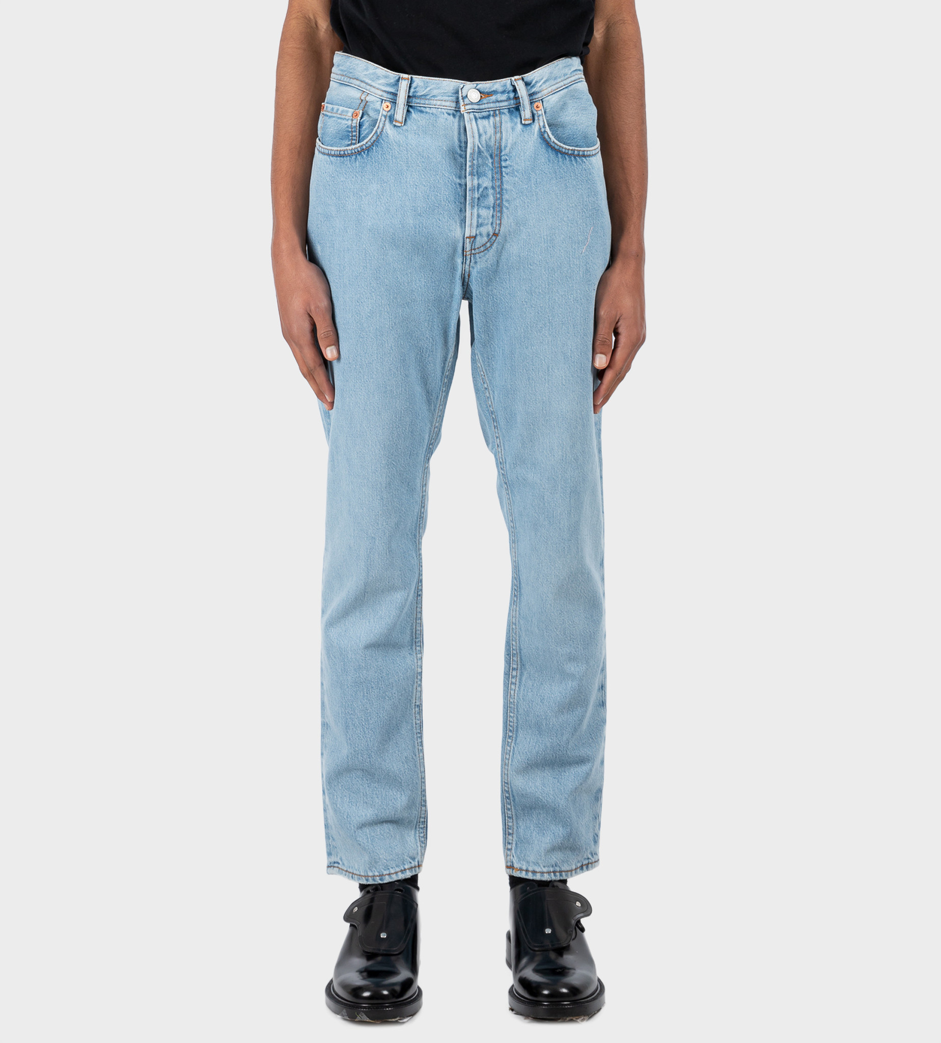 ACNE STUDIOS Slim Tapered Jeans Light Blue