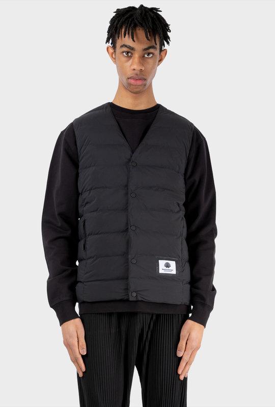 Rib Vest Black