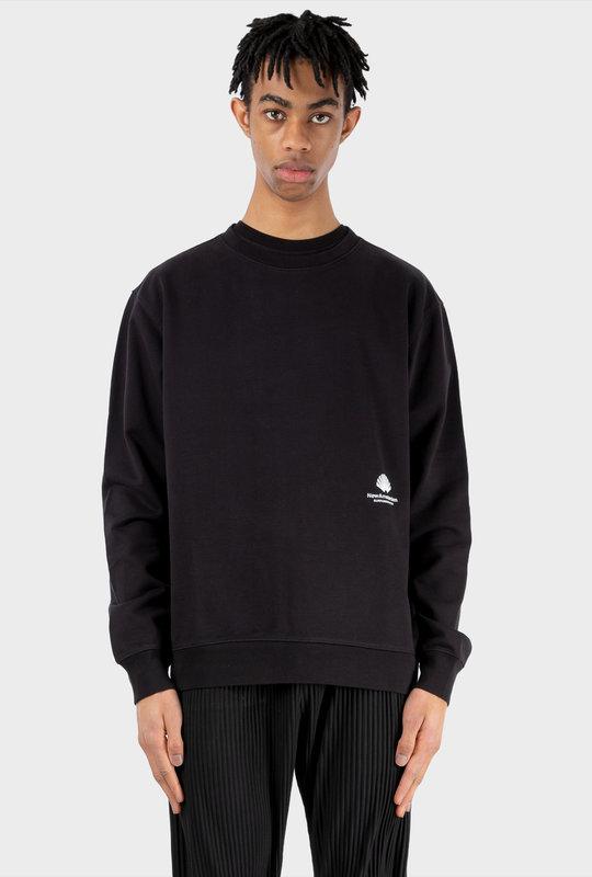 Cut Sweater Black