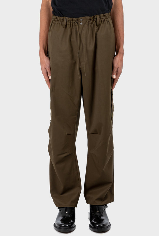 Classic Refined Wool Stretch Cargo