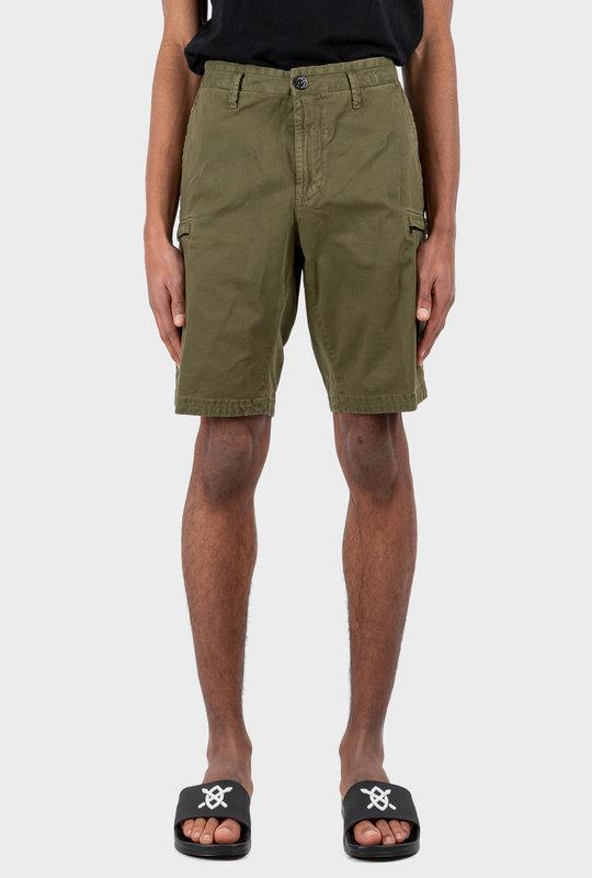 Cargo Bermuda Shorts Olive Green