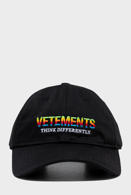 Think Differently Logo Cotton Twill Cap