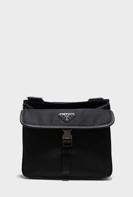 Nylon and Saffiano bag.