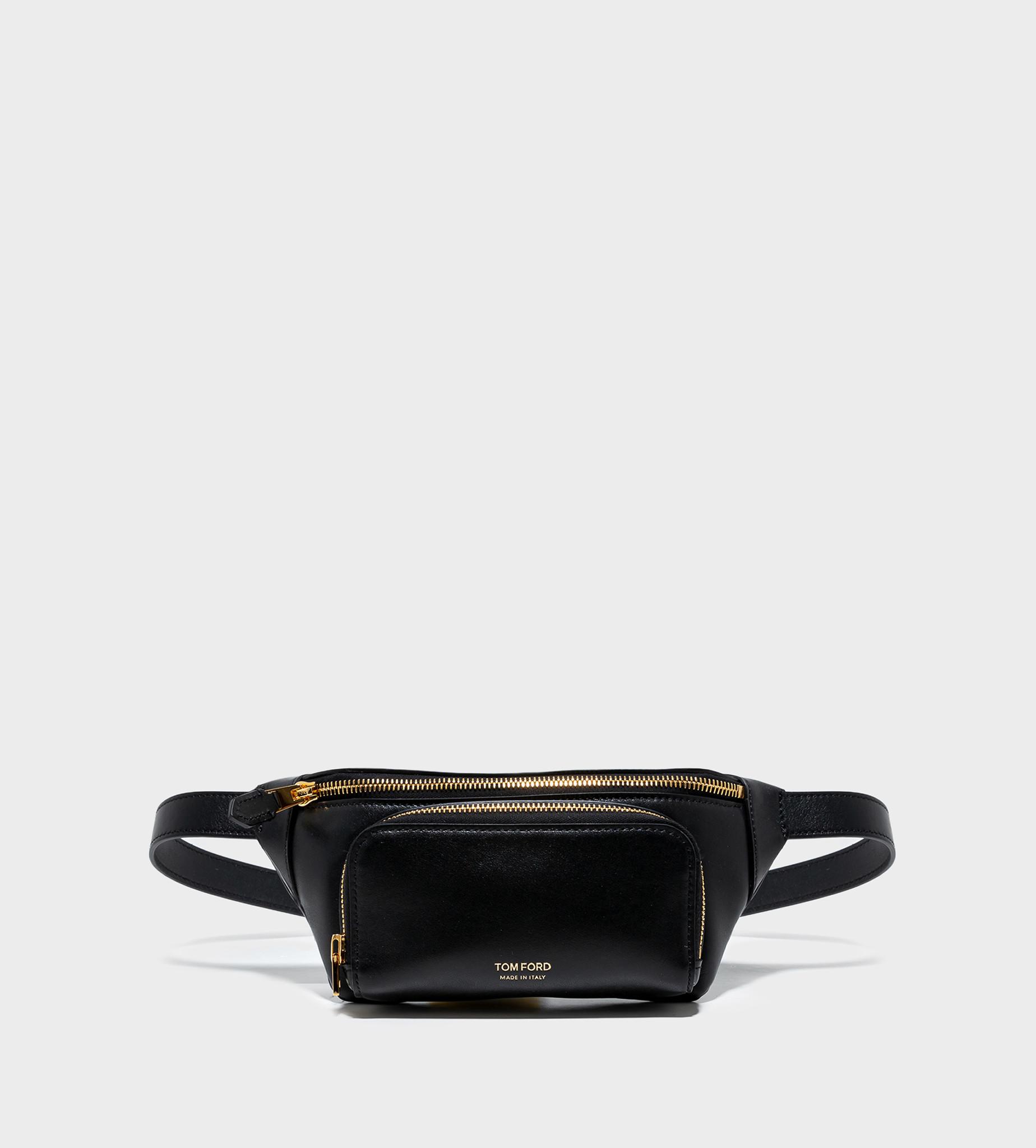 TOM FORD Leather Belt Bag Black