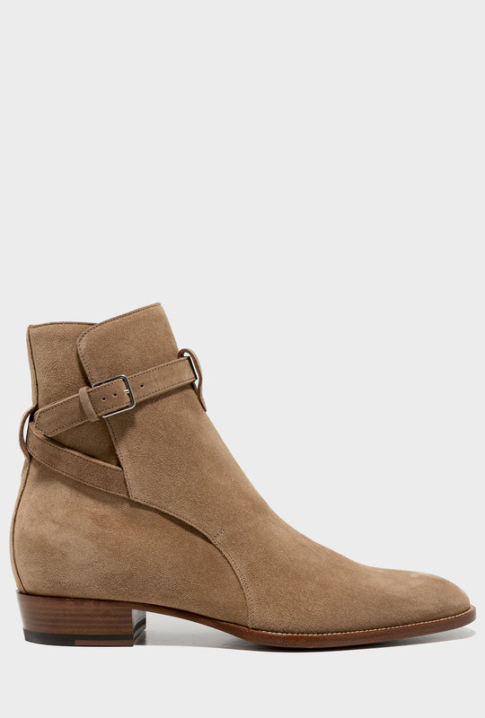 Brown Suede Wyatt Boots