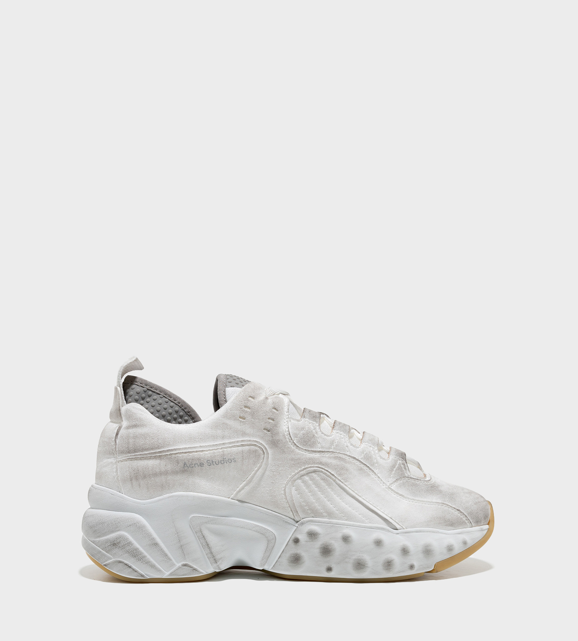 ACNE STUDIOS Distressed Sneakers White
