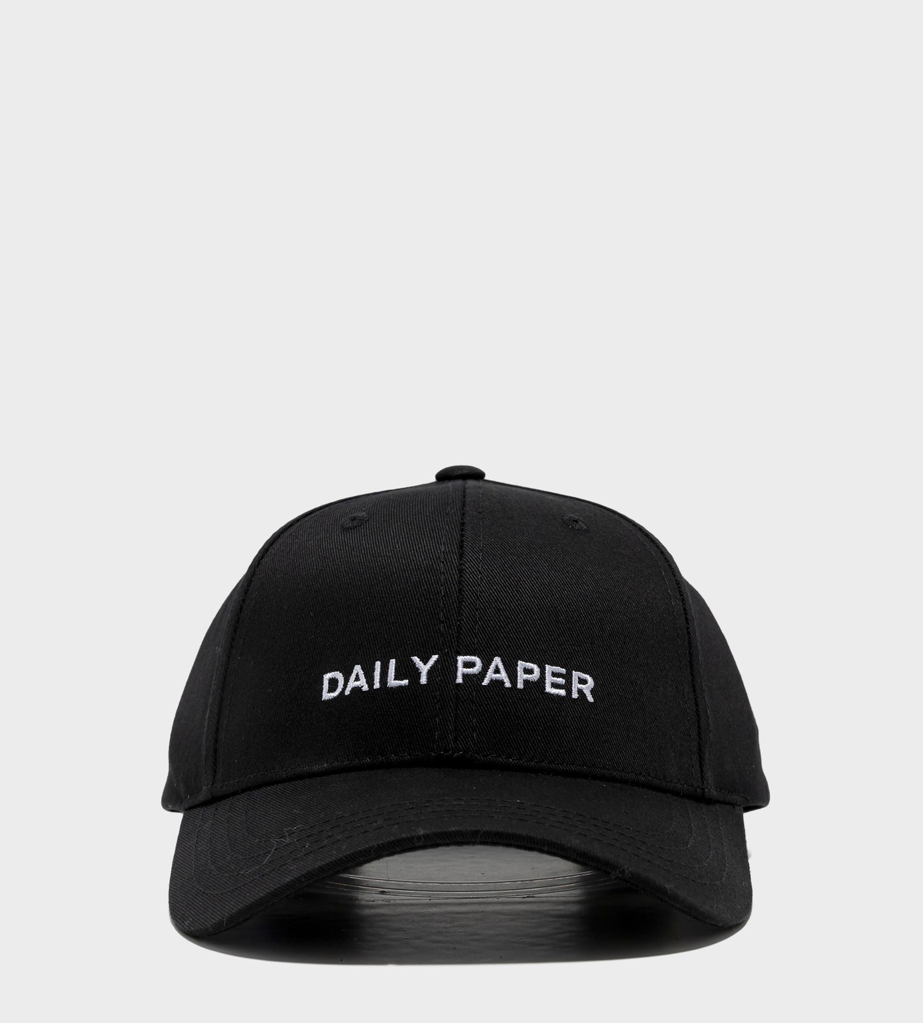 DAILY PAPER Essential Cap Black