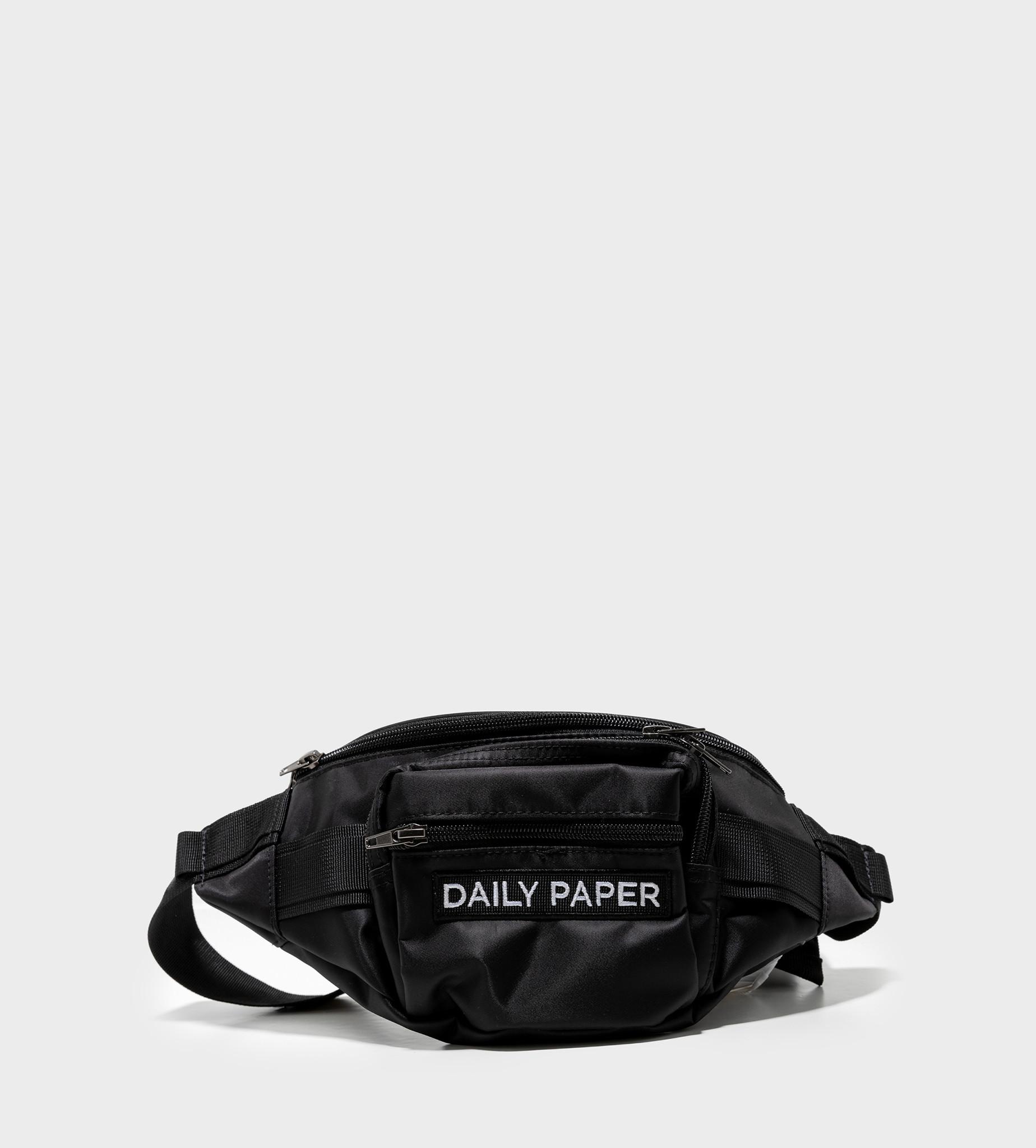 DAILY PAPER Fanny Bag Black