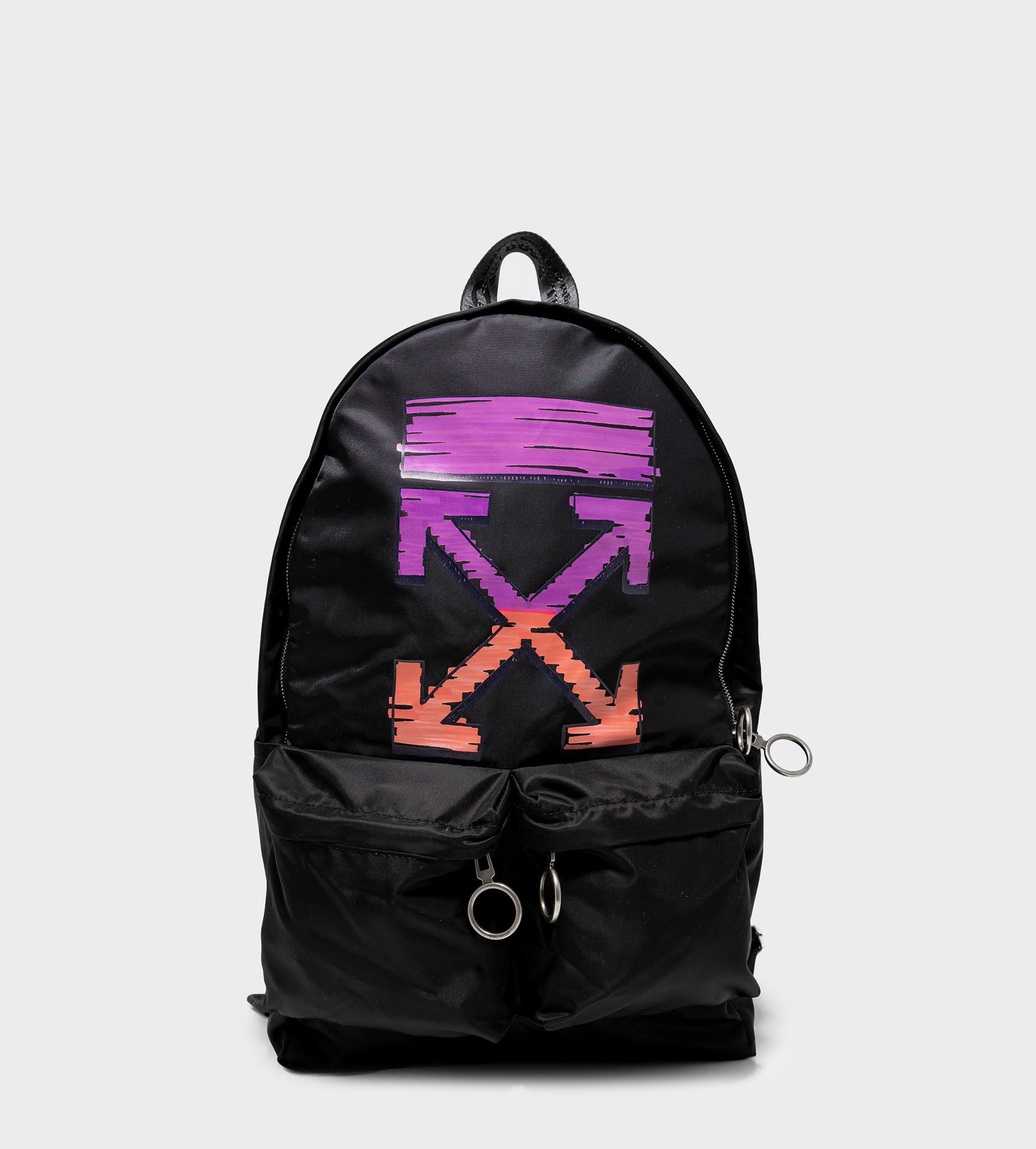 OFF-WHITE Marker Arrow Easy Backpack Black