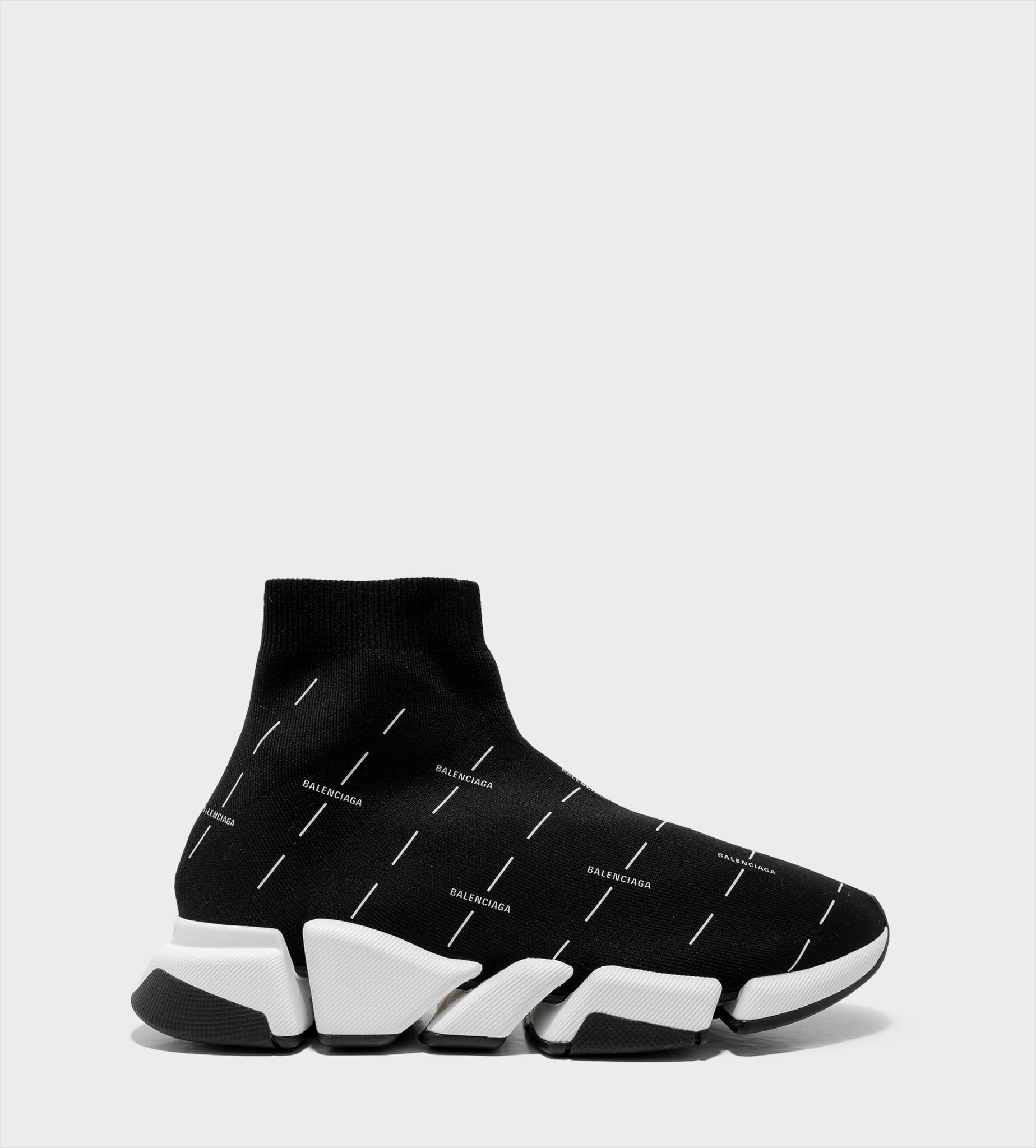 BALENCIAGA All Over Print Speed 2.0 Sneaker