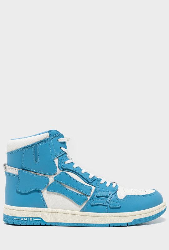 AMIRI Skeleton High-Top Sneaker Blue