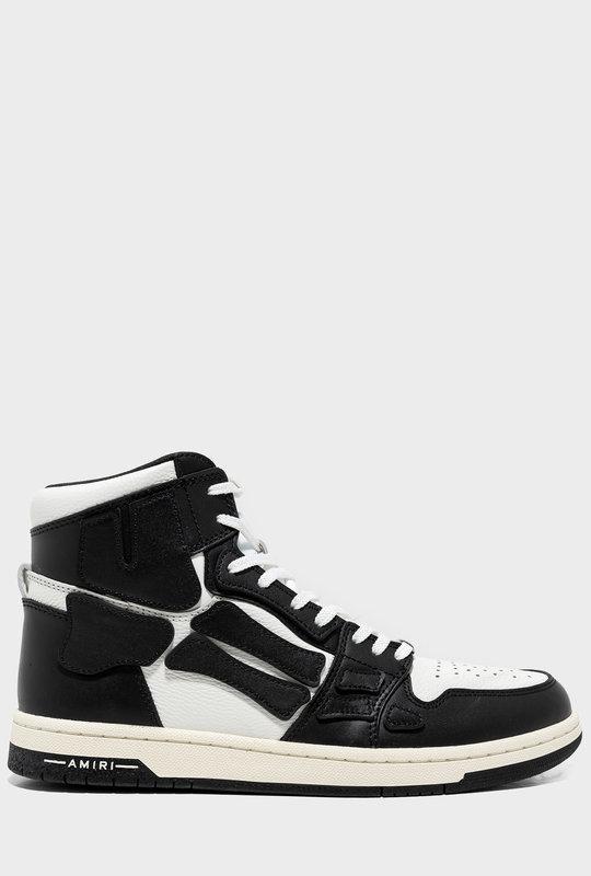 Skeleton High-Top Sneaker Black