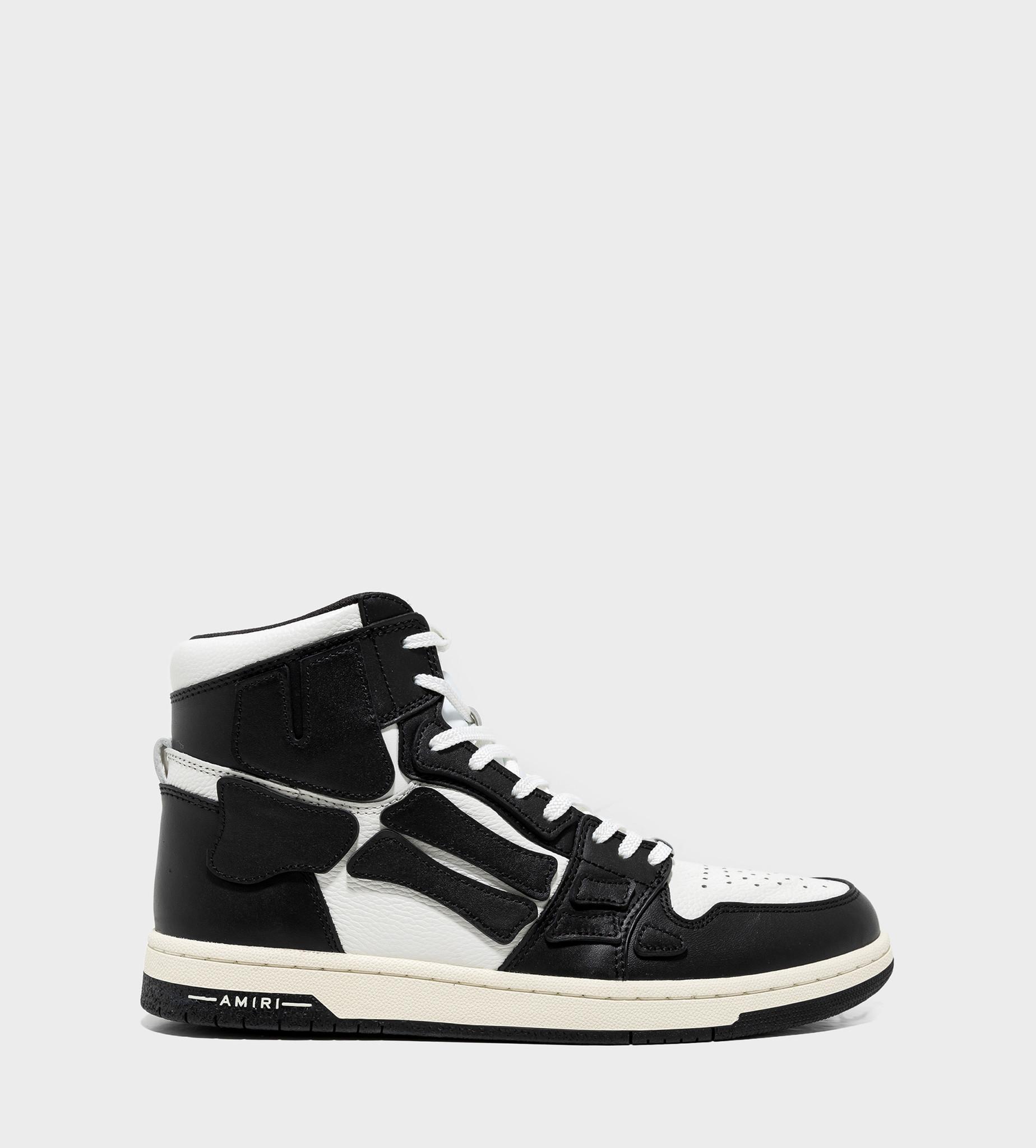 AMIRI Skeleton High-Top Sneaker Black