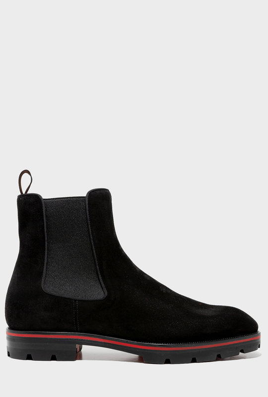 Melon Ankle Boot Black