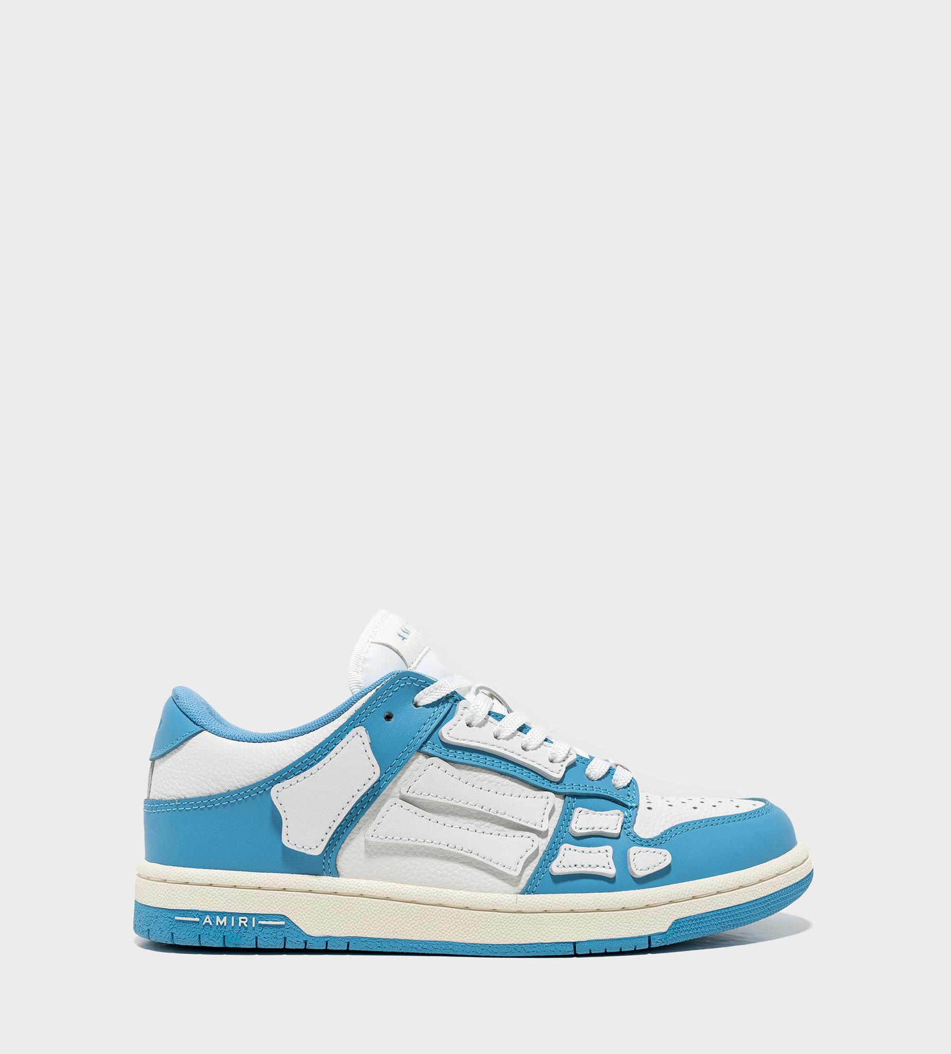 AMIRI AMIRI Skeleton Low Sneaker Blue