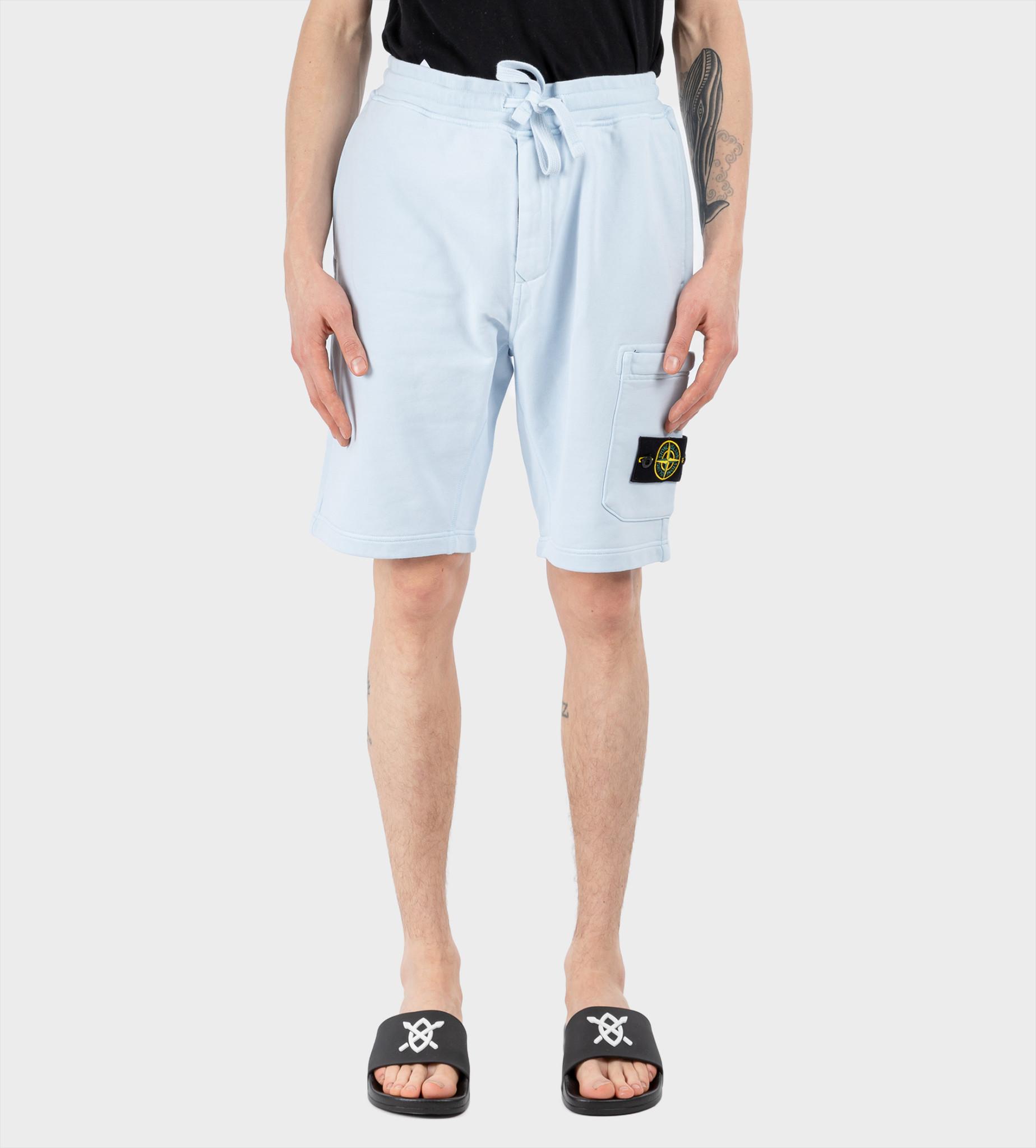STONE ISLAND Bermuda Shorts  Light Blue
