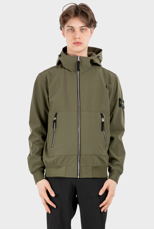 40727 Light Soft Shell-R_E.DYE® TECHNOLOGY Olive Green