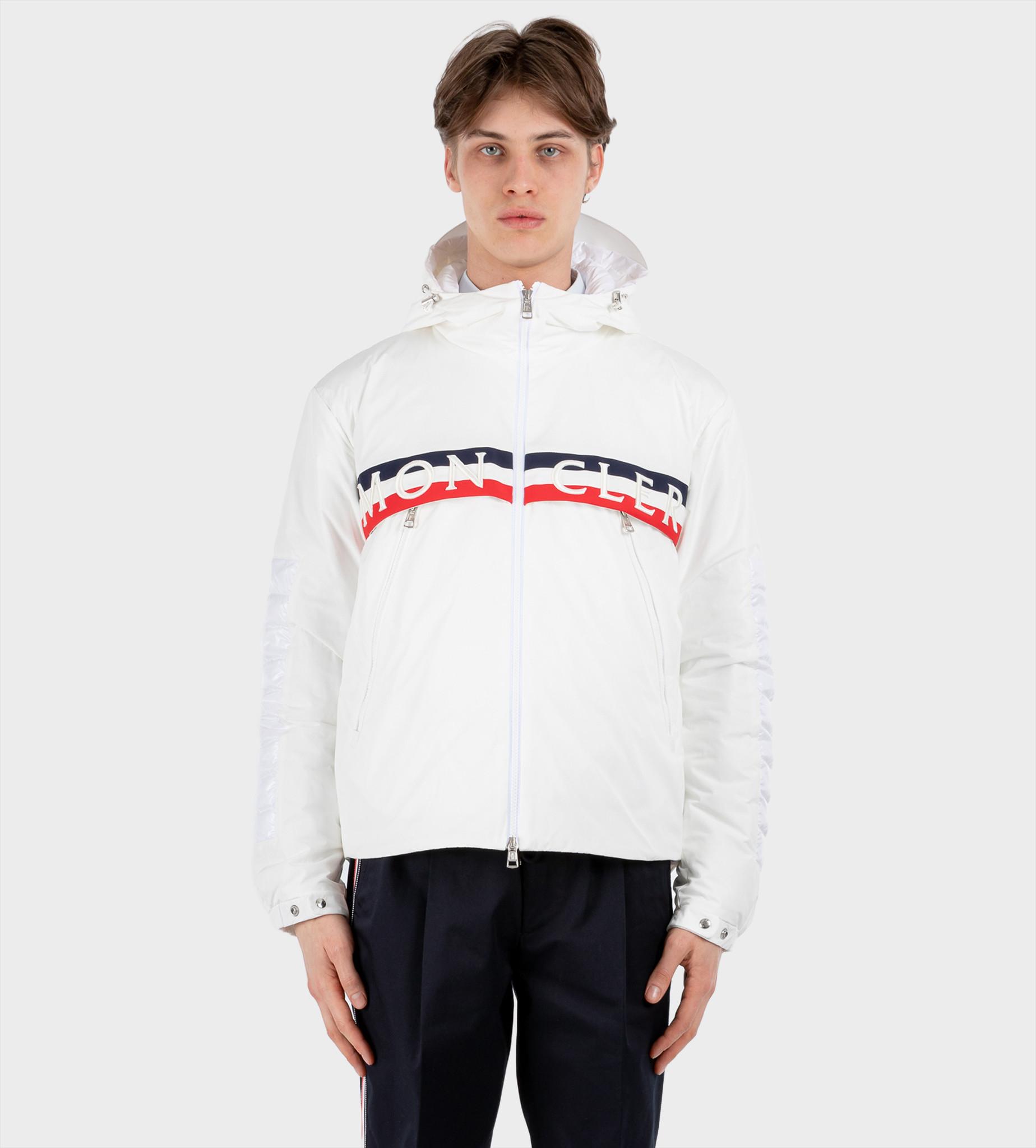MONCLER Jacket Olargues White