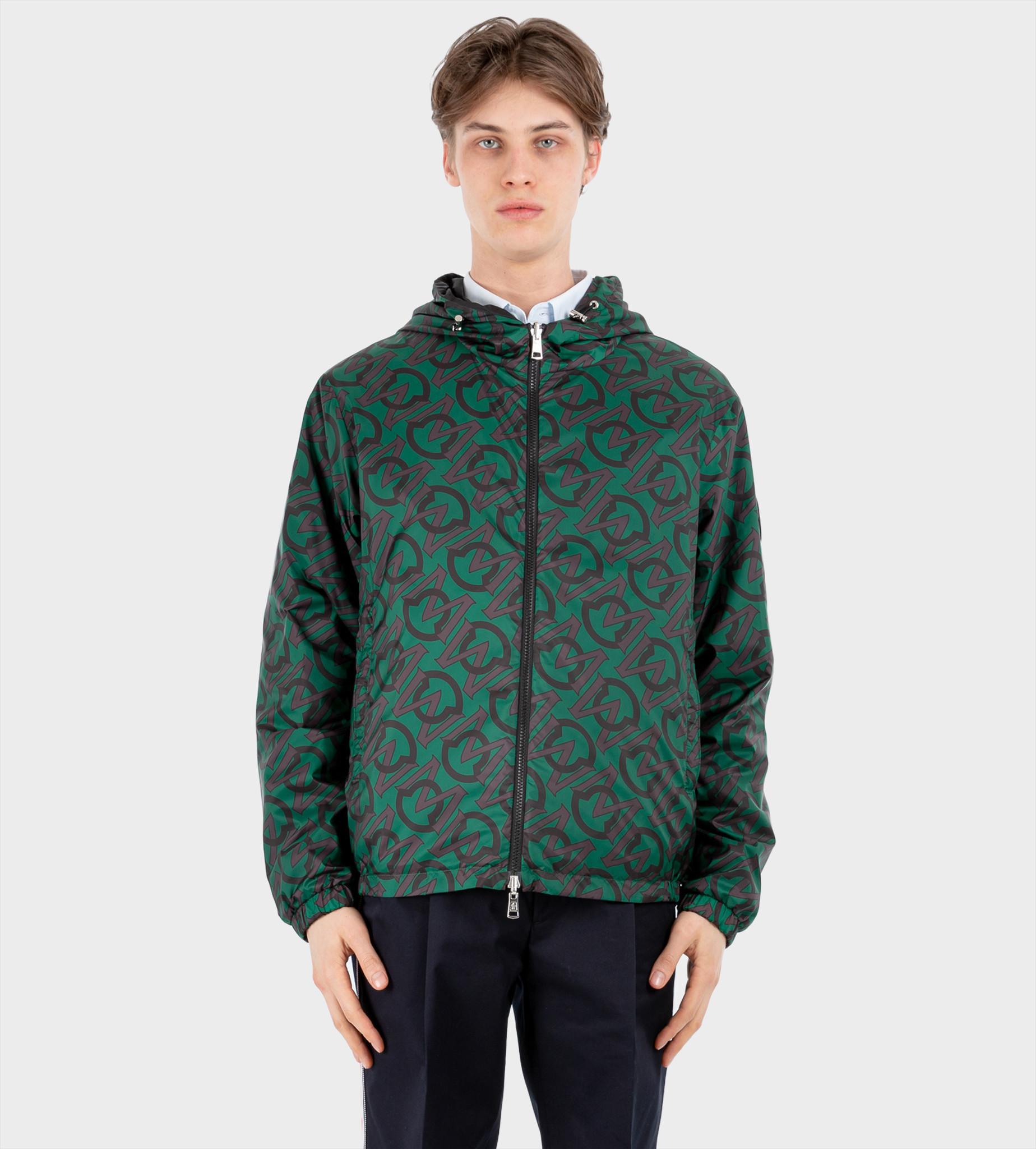MONCLER Cretes Reversible Jacket With Logo Green