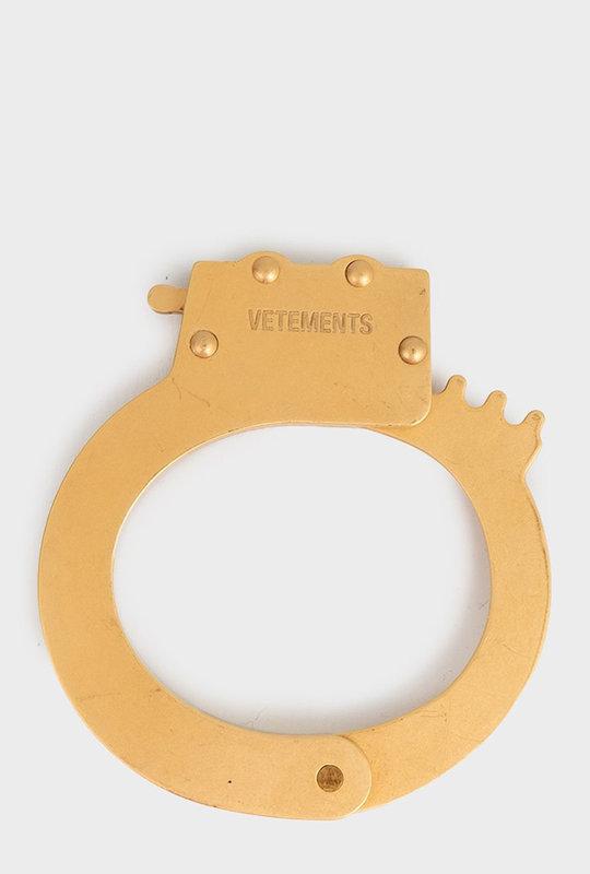 Brass handcuff bracelet