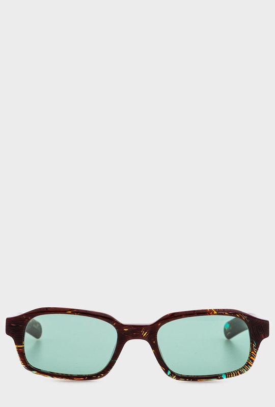 Hanky Sunglasses Dizzying Tortoise & Teal