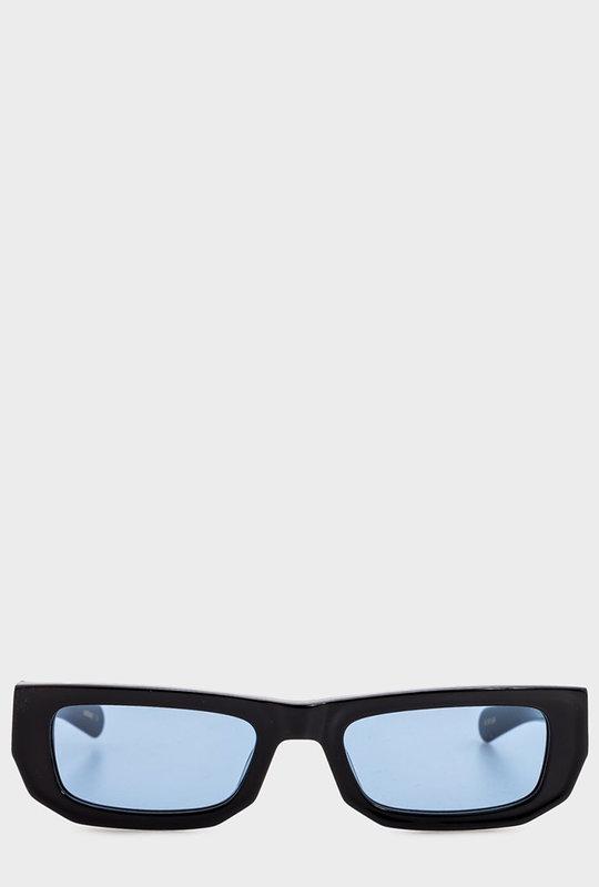 Bricktop Sunglasses Solid Black & Blue